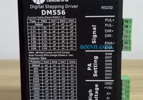 Driver động cơ step chính hãng Leadshine (M542, DM556, MA860H…)