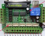 Board mạch điều khiển máy CNC 5 trục