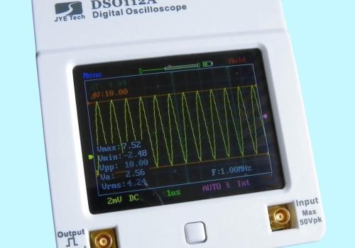 Máy hiện sóng Oscilloscope DSO112A màn hình cảm ứng full color