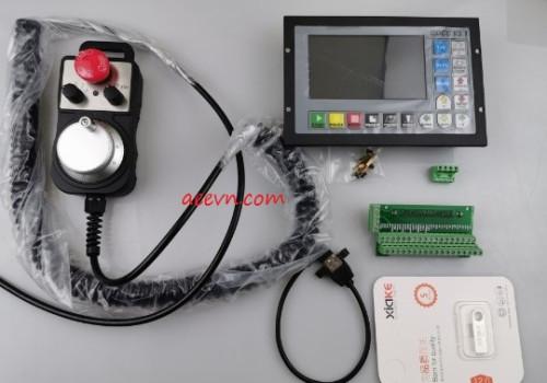 Màn hình điều khiển máy CNC 4 trục tốc độ cao 500Khz DDCSV3.1