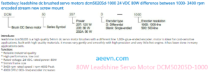 LeadshineDCmotor_catalog1