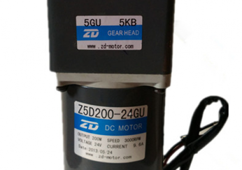 Động cơ ZD MOTOR 12V/24V, 6W-250W