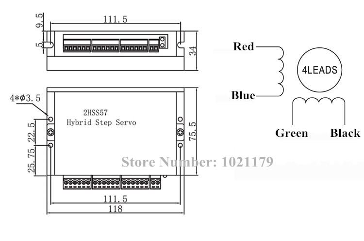 Servo Driver 2HSS57 + Motor 57J1880EC-1000 - Công ty TNHH Thiết bị ...